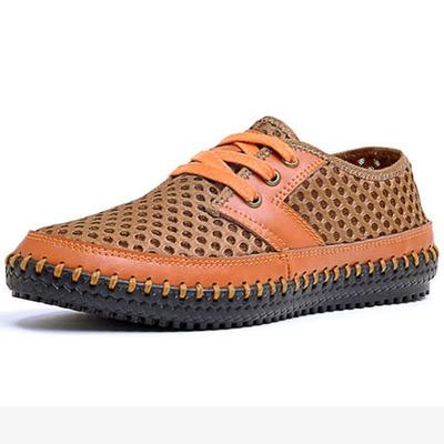 Mesh Bonded Casual Shoe - - Footwear -HIS.BOUTIQUE