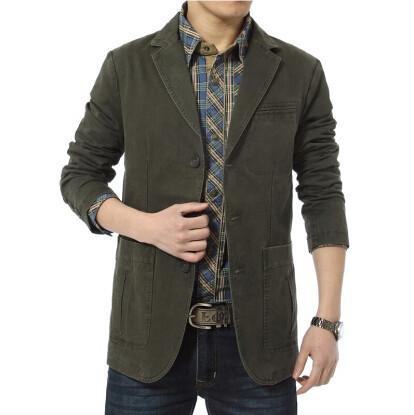 The Professor Coat - Army green / XS- Blazer -HIS.BOUTIQUE