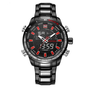 Men's Digital Quartz - Red - HIS.BOUTIQUE