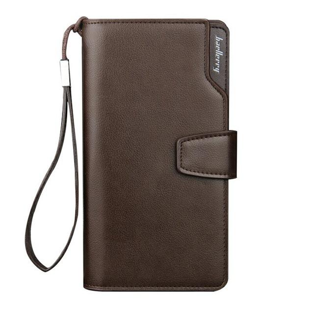 Leather Card Holder Wallet -  - HIS.BOUTIQUE