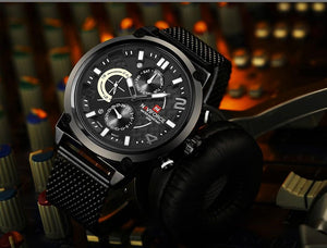 NAVIFORCE Waterproof Quartz -  - HIS.BOUTIQUE