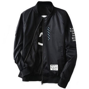 Flight Bomber Jacket - Black / XS - HIS.BOUTIQUE