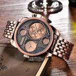 Oulm Antique Wristwatch - Rose - HIS.BOUTIQUE