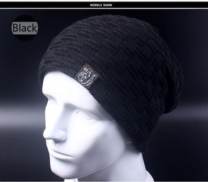 Baggy Beanie - black - HIS.BOUTIQUE