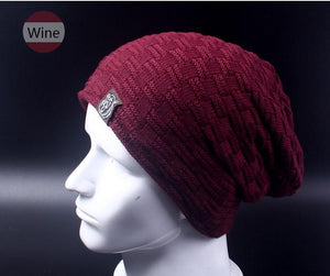 Baggy Beanie - wine - HIS.BOUTIQUE