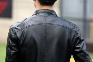 Leather Biker Jacket -  - HIS.BOUTIQUE