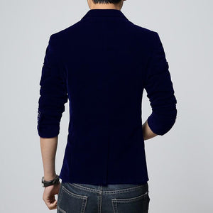 Velvet Blazer -  - HIS.BOUTIQUE