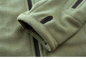 Military Fleece Hoodie -  - HIS.BOUTIQUE