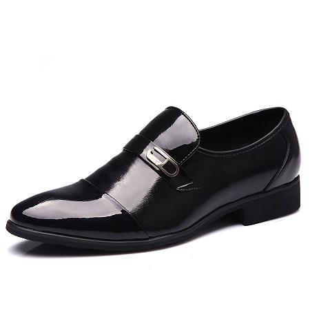 Derby Business Shoes - Black / 7.5- Footwear -HIS.BOUTIQUE