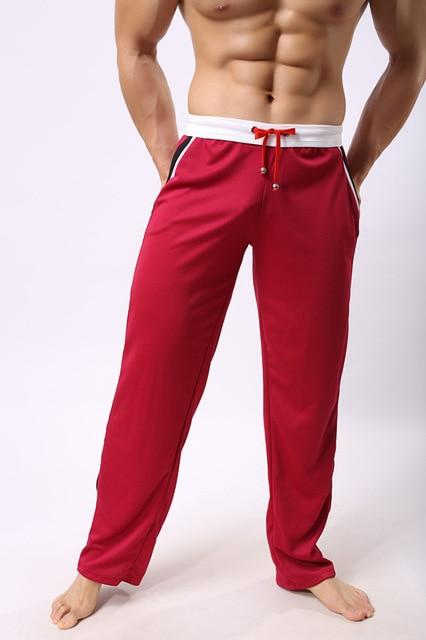 Casual Sports Sweatpants - red / M - HIS.BOUTIQUE