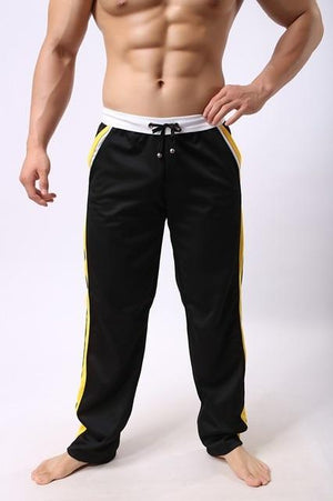Casual Sports Sweatpants - black / M - HIS.BOUTIQUE