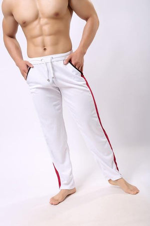 Casual Sports Sweatpants - white / M - HIS.BOUTIQUE