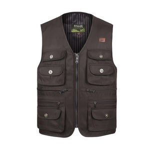 Multi-Pocket Tactical Vest -  - HIS.BOUTIQUE