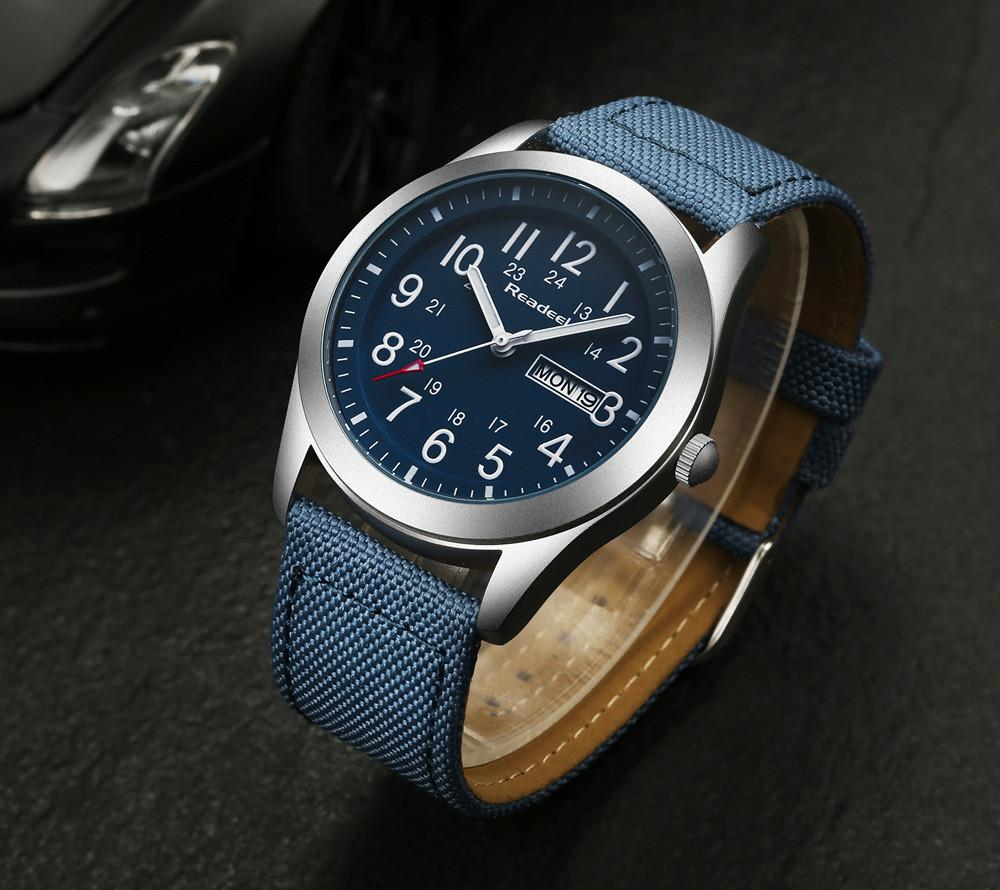 Readeel Sports Watch - Blue- Watches -HIS.BOUTIQUE