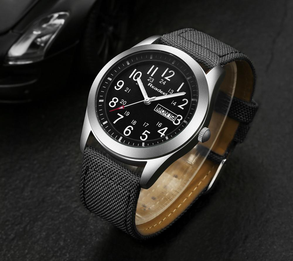 Readeel Sports Watch - Black- Watches -HIS.BOUTIQUE