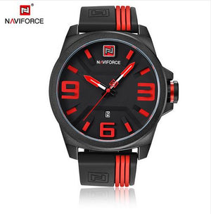 Color Stripe Watch - Red - HIS.BOUTIQUE