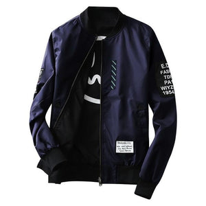 Flight Bomber Jacket - Navy / XS - HIS.BOUTIQUE