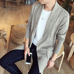 The Dustcoat Cardigan -  - HIS.BOUTIQUE