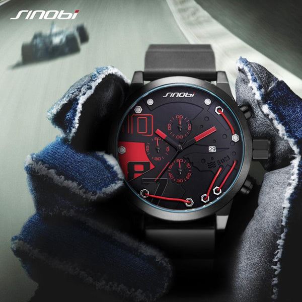 Silicone Sports Watch - - Watches -HIS.BOUTIQUE