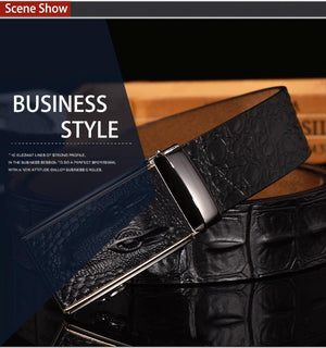 Crocodile Designer Belt -  - HIS.BOUTIQUE