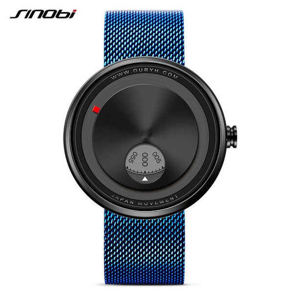 Milan Strap Wrist Watch - Blue- Watches -HIS.BOUTIQUE