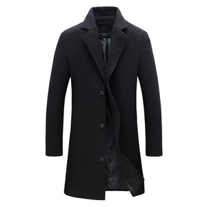 England Wool Coat - Black / XS - HIS.BOUTIQUE