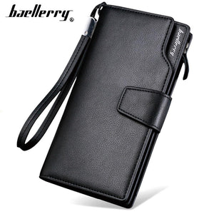 Leather Card Holder Wallet - - Handbags, Wallets & Cases -HIS.BOUTIQUE