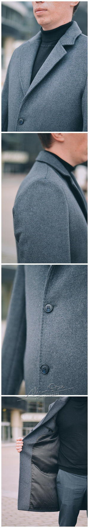 The Titan Coat -  - HIS.BOUTIQUE