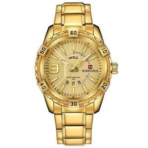 Rope Casual Watch - Gold- Watches -HIS.BOUTIQUE