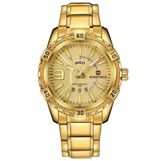 Rope Casual Watch - Gold - HIS.BOUTIQUE