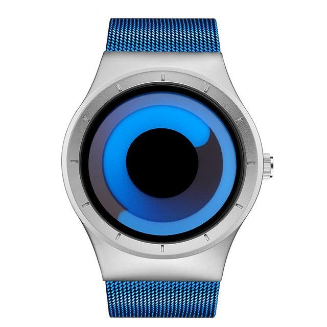 Creative Rotation Watch - Blue silver blue - HIS.BOUTIQUE