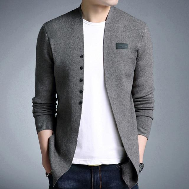 The V Cardigan - Dark Grey / XS - HIS.BOUTIQUE