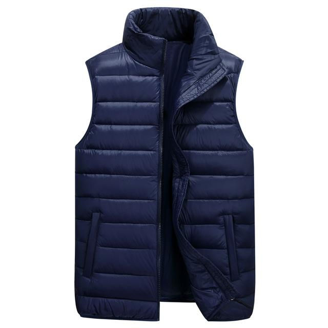 Ultralight Nylon Vest - Dark blue / XL - HIS.BOUTIQUE