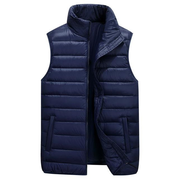 Ultralight Nylon Vest - Dark blue / M- Vest -HIS.BOUTIQUE