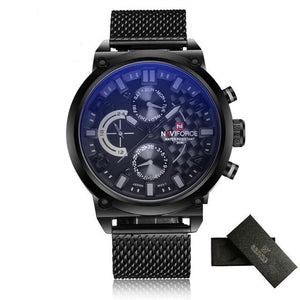 NAVIFORCE Waterproof Quartz - Gray - HIS.BOUTIQUE