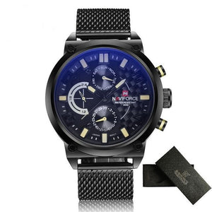NAVIFORCE Waterproof Quartz - Yellow - HIS.BOUTIQUE