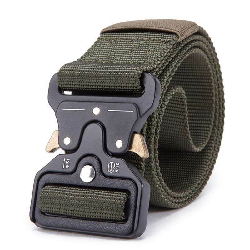 Tactical Military Belt - Army Green / 125cm - HIS.BOUTIQUE
