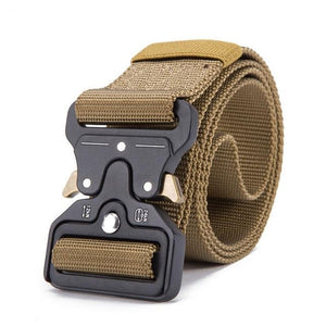 Tactical Military Belt - Dark Khaki / 125cm - HIS.BOUTIQUE