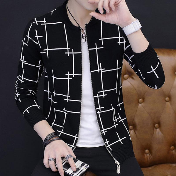 Geometric Outerwear - - Jacket -HIS.BOUTIQUE
