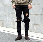 Destroyed Skinny Jeans -  - HIS.BOUTIQUE