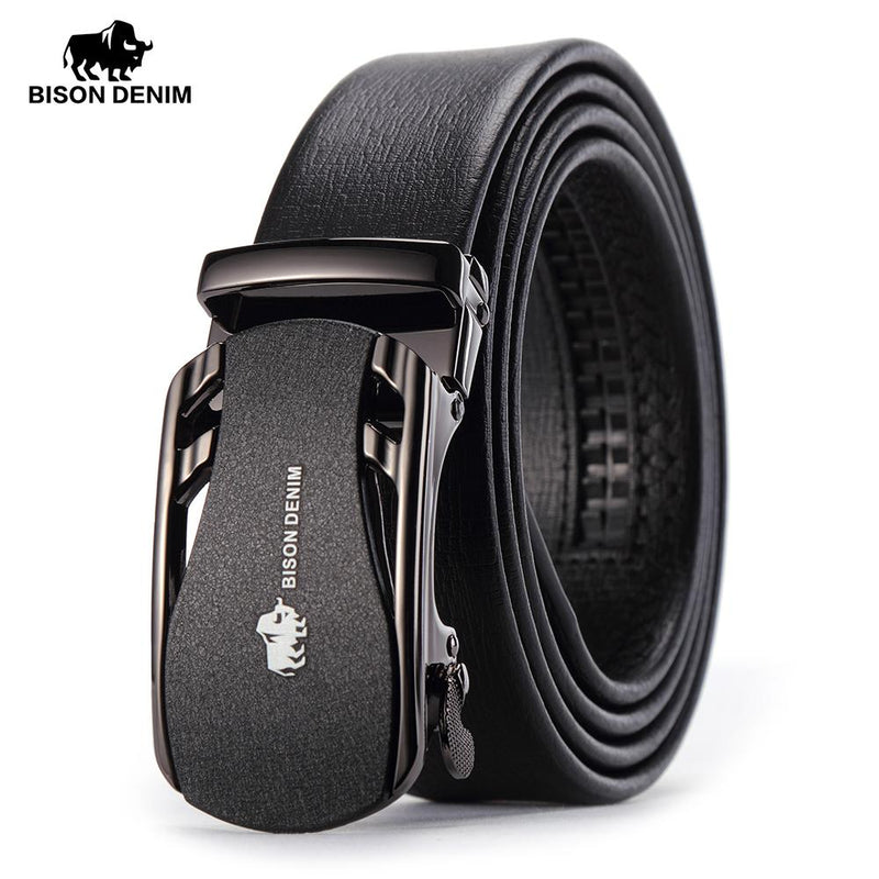 Bison Denim Belt -  - HIS.BOUTIQUE