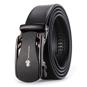 Bison Denim Belt - Black / China / 110cm- Belt -HIS.BOUTIQUE