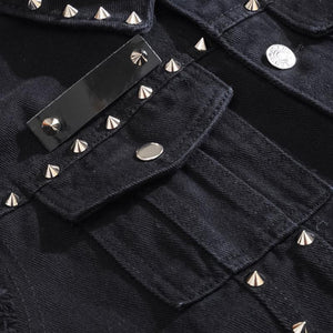 Rivet Denim Vest -  - HIS.BOUTIQUE