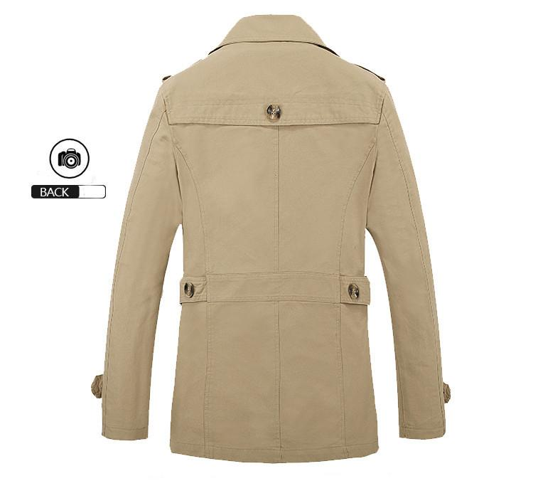 Businessman Trench Coat