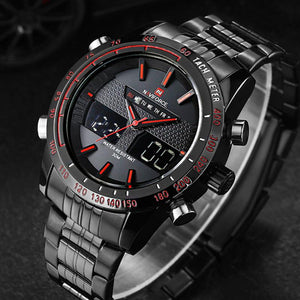 NAVIFORCE Sports LED Watch -  - HIS.BOUTIQUE