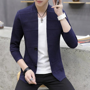 Youth Pop Cardigan - Blue / XXS - HIS.BOUTIQUE