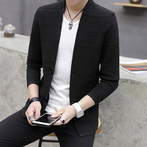 Youth Pop Cardigan - Black / XXS - HIS.BOUTIQUE