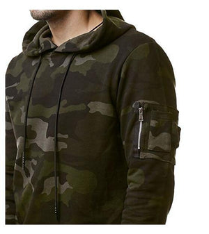 Camouflage Hoodie -  - HIS.BOUTIQUE