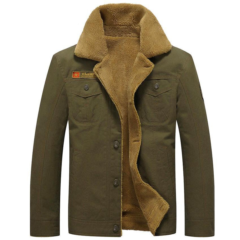 Alpine Military Jacket - Khaki / XS - HIS.BOUTIQUE