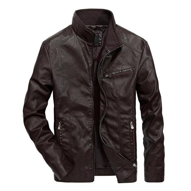 Biker Choice Jacket - Coffee / XS - HIS.BOUTIQUE
